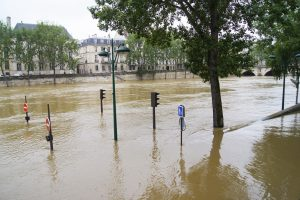 La Seine en crue - Le Marais Mood Paris Le Marais
