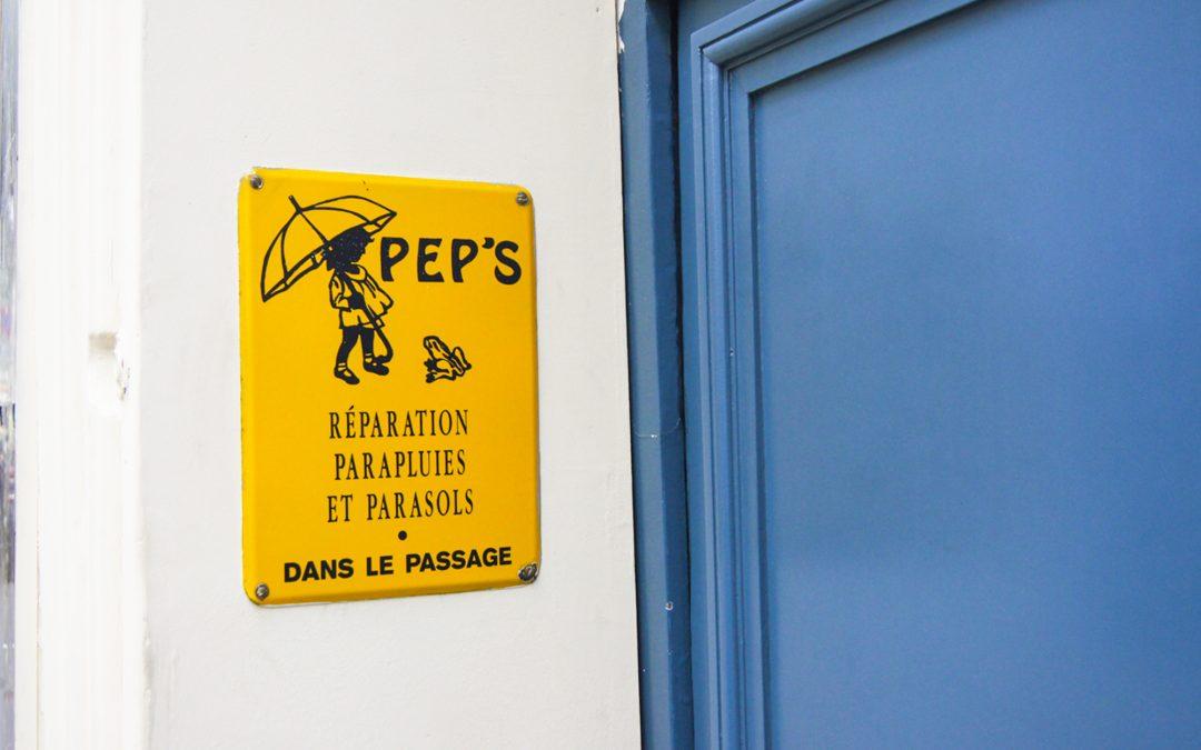PEP's, le seul réparateur de parapluies d'Europe