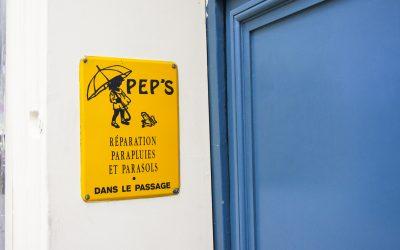 PEP's, le seul réparateur de parapluies de Paris