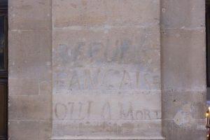 Inscription église st Paul - Le Marais - Le Marais Mood