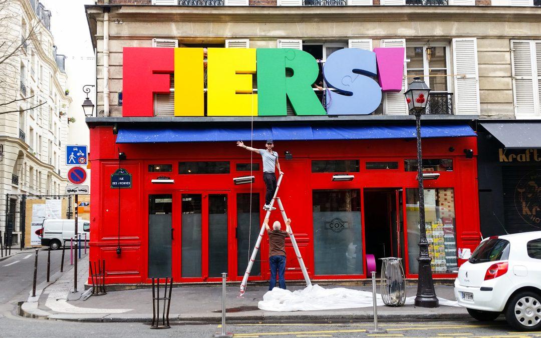 Le Marais aux couleurs de la gay pride