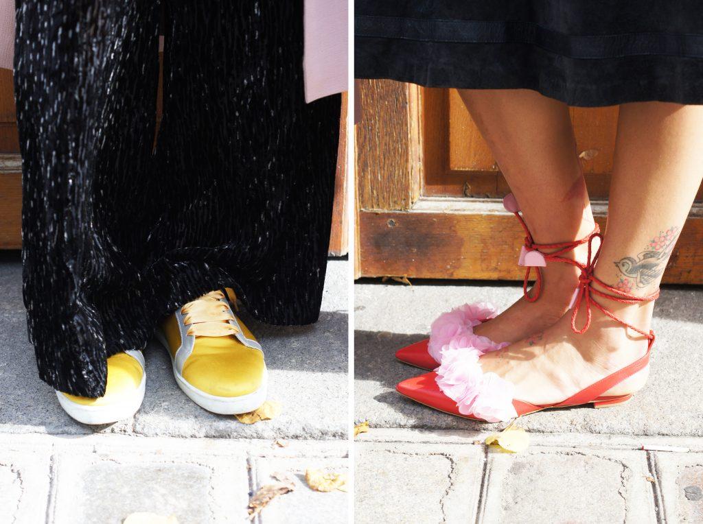 Le look de rue de Carmen et Charlotte - Le Marais Mood - Le Marais Paris