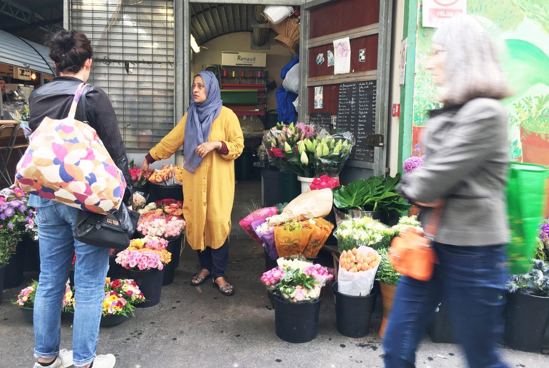 Des fleuristes très mimi au Marché des enfants rouges - Le Marais Mood f85745c2610