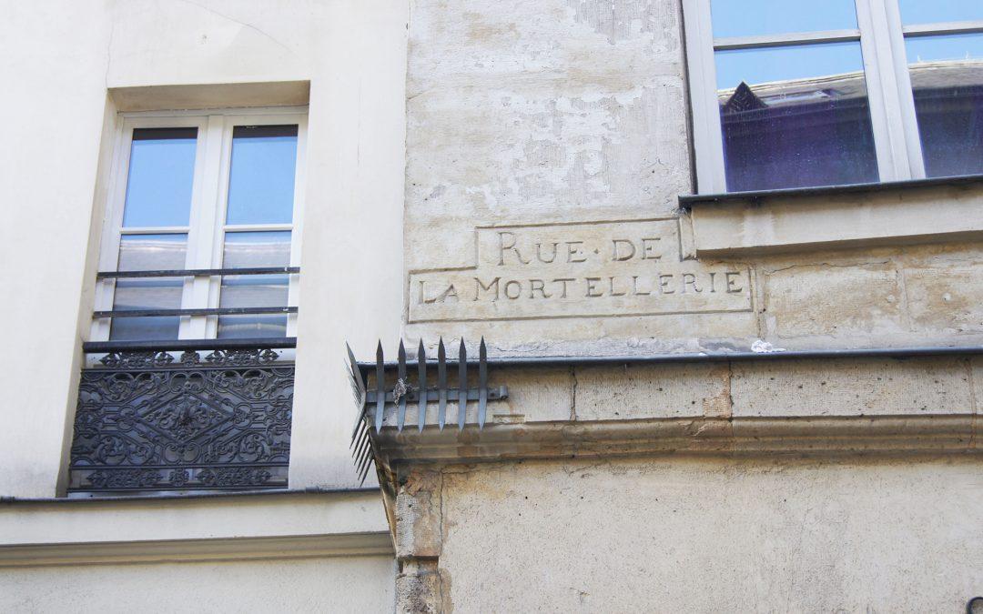 Une rue porte-malheur dans le Marais ?