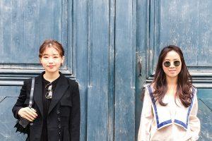 Le look de rue de Hyein et Dasom - Le Marais Mood - Bonnes adresses dans le Marais à Paris