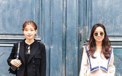 Le look de Hyein et Dasom