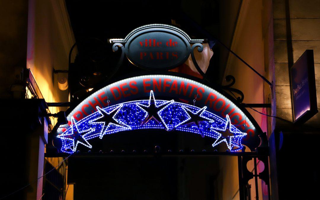 Illumination rue de Bretagne - Le Marais Mood - Bonnes adresses dans le Marais à Paris