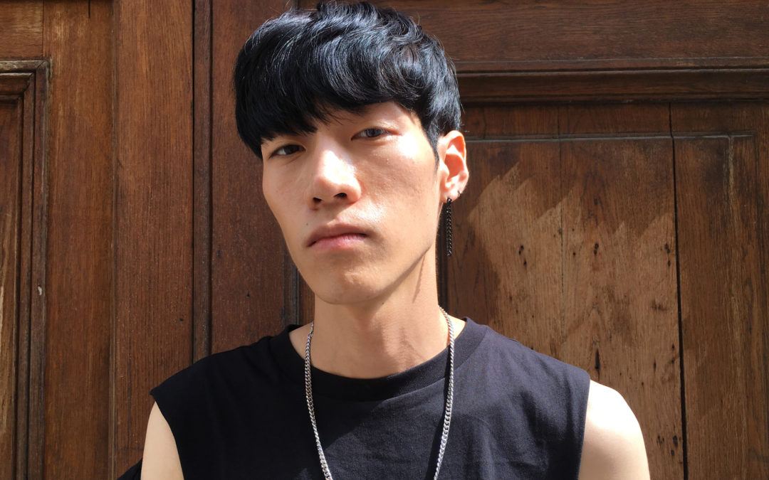 Le look de Chiwoo Kang