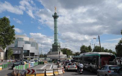 18 juin : changement du plan de circulation place de la Bastille