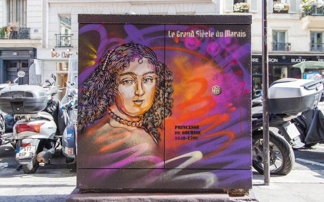 Le Street Art rencontre le Grand Siècle