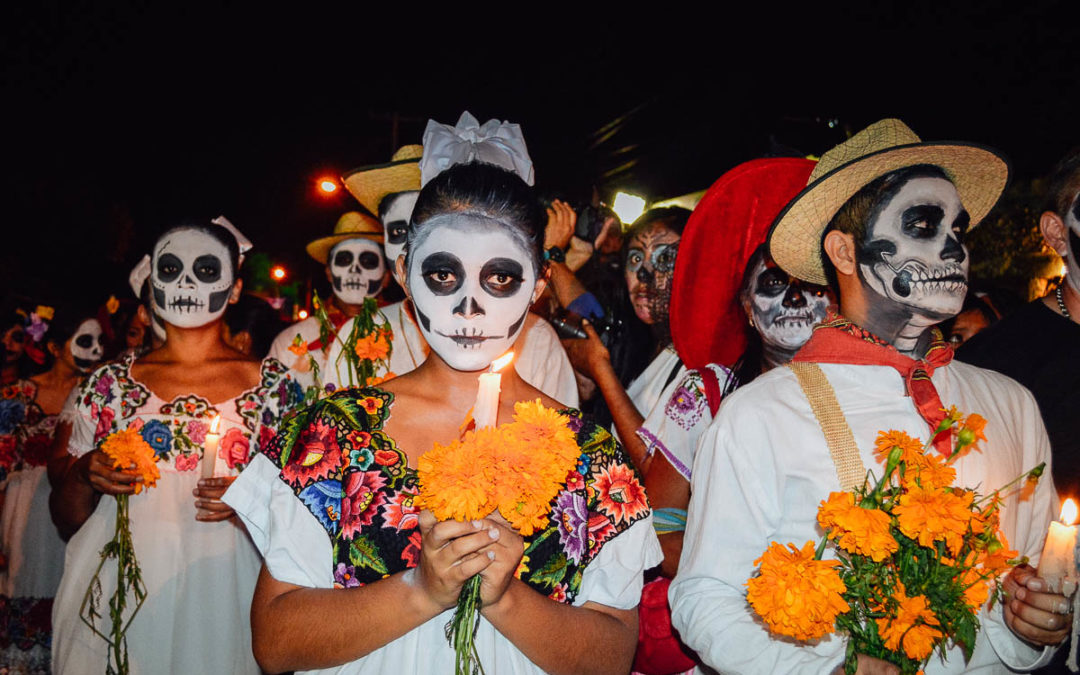 Halloween dans le Marais en mood mexicain