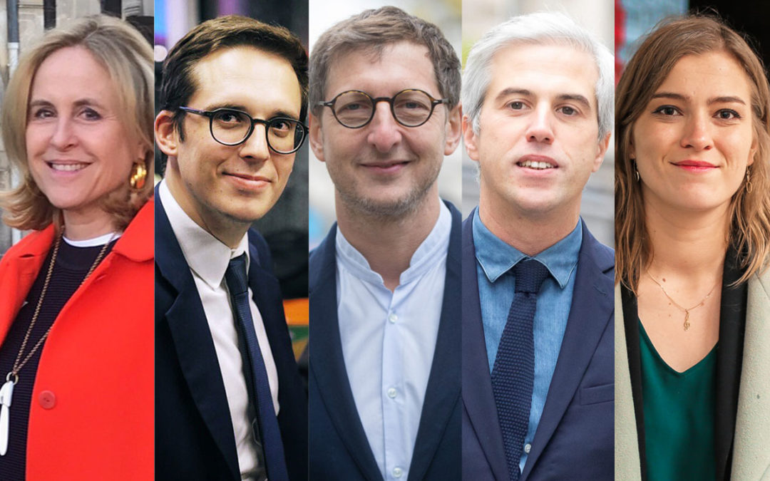 Municipales 2020 : les têtes de listes de Paris centre