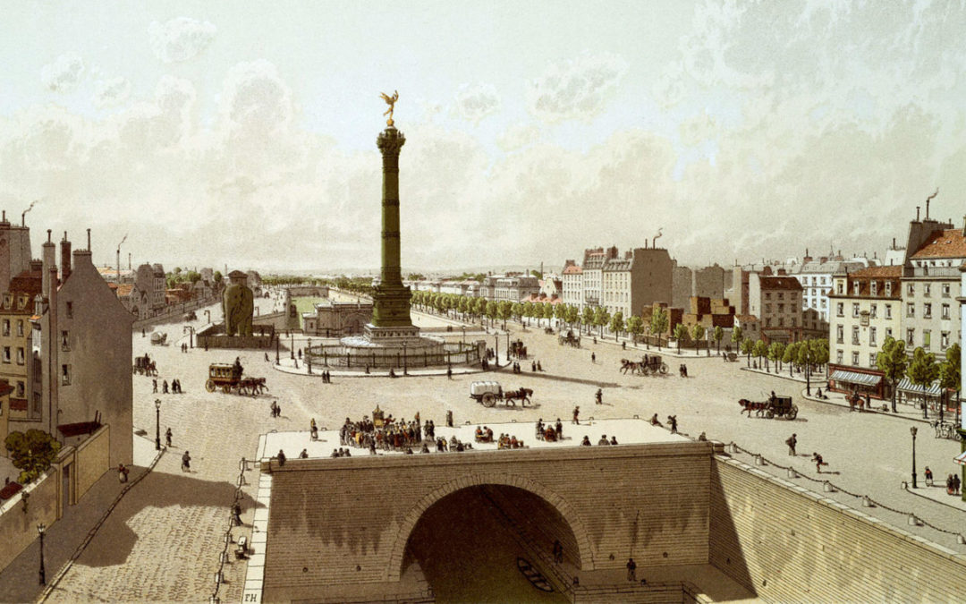 La Bastille avant et après 1789