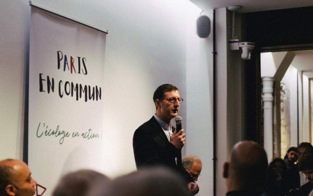 Municipales 2020 : Ariel Weil mobilise ses troupes (tête de liste PS pour Paris Centre)