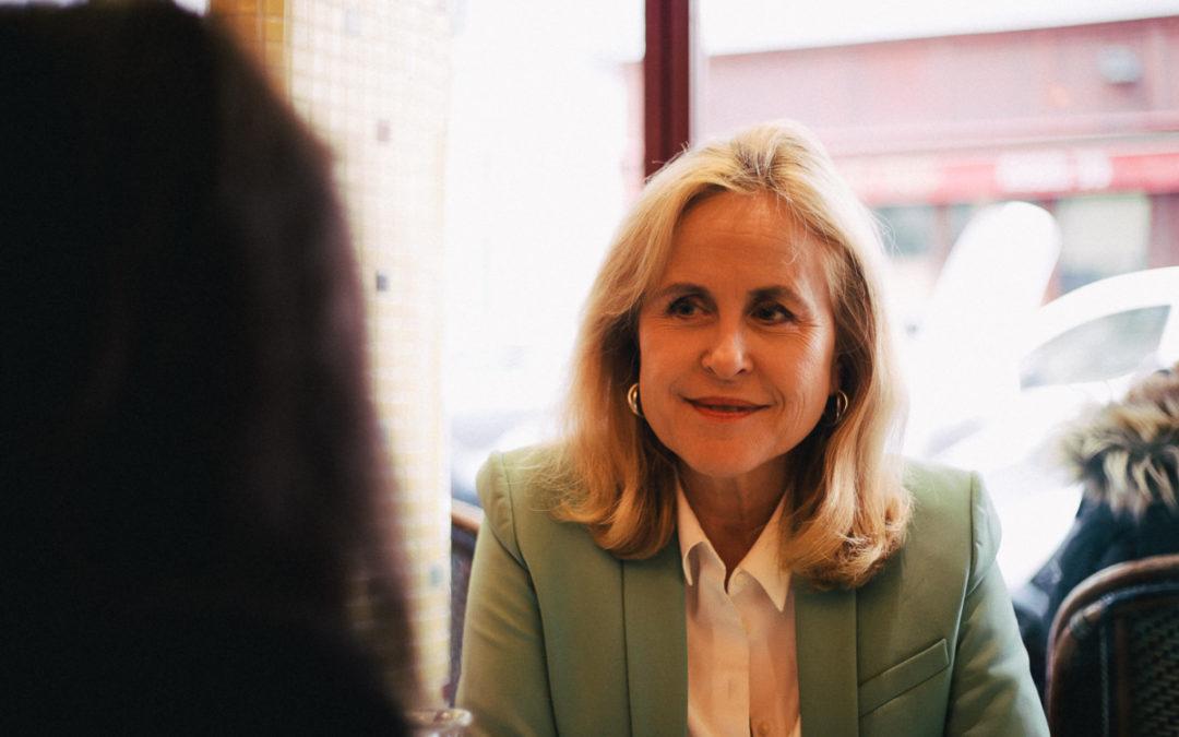 Un café avec Anne Lebreton (tête de liste Cédric Villani)