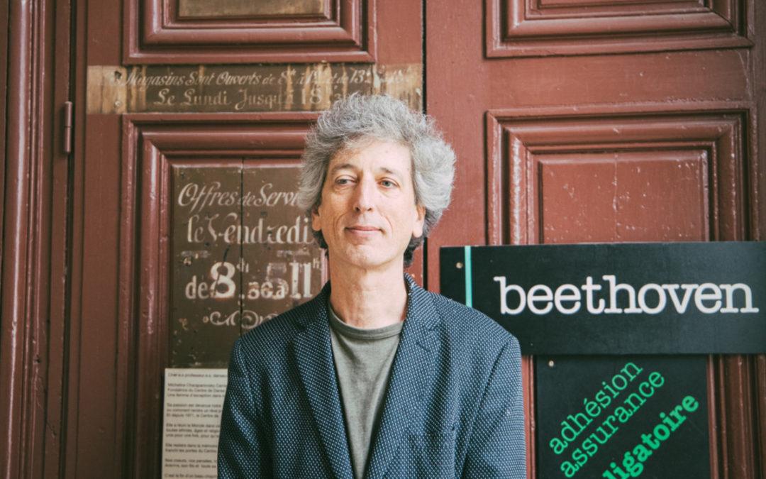 Antoine Carrance, à la tête du Centre de Danse du Marais