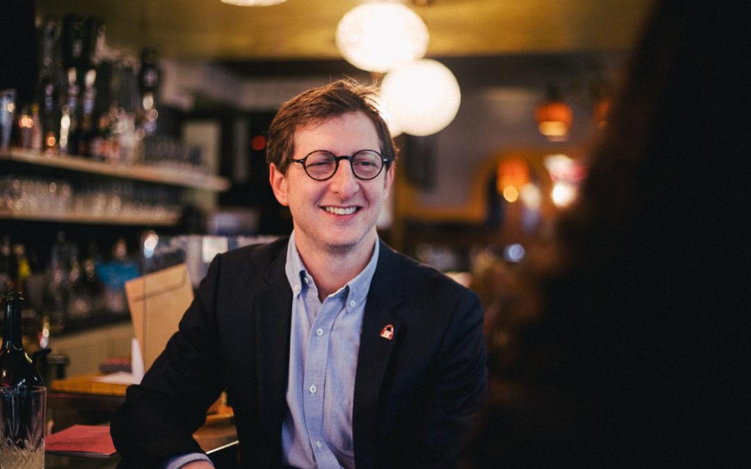 Un café avec Ariel Weil (tête de liste Paris en Commun)