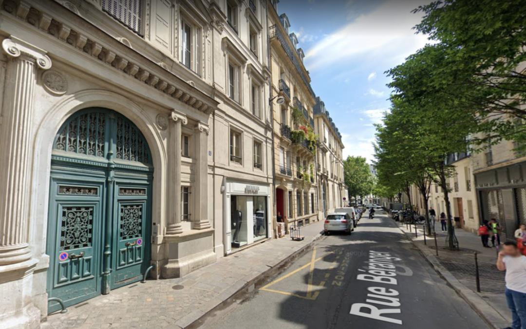 Les rêveries d'un promeneur confiné : rue Béranger