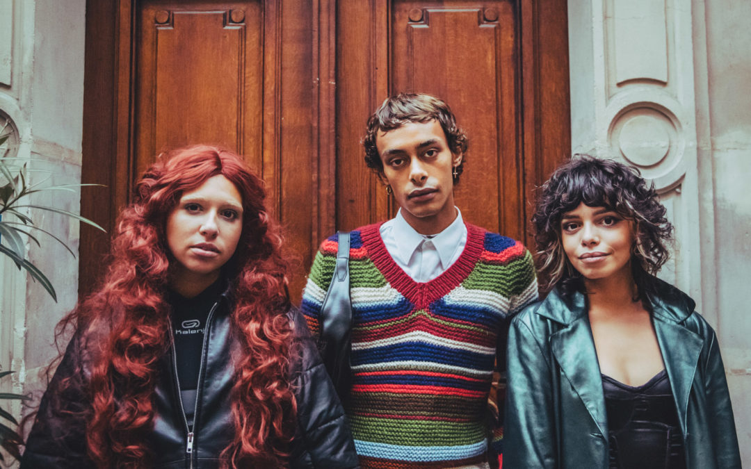 Le look de Charline, Oriane et Alan