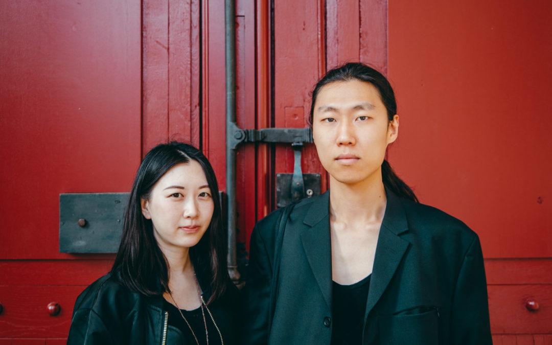 Le look d'Ahn et Dong Wan Kim
