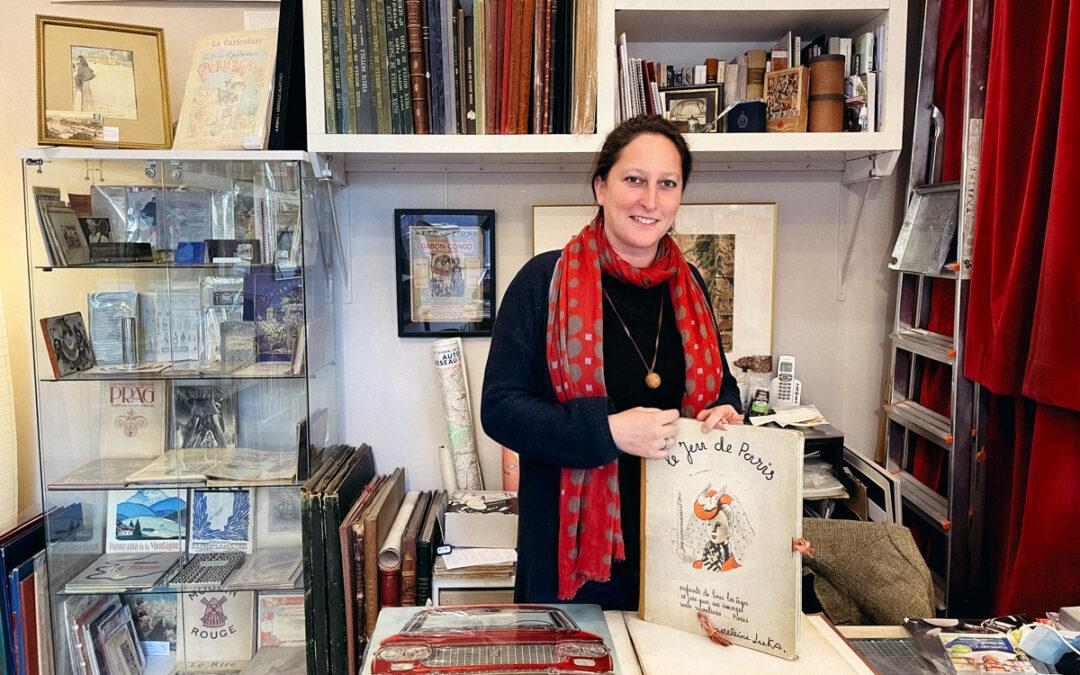 «Sur le fil de Paris» : libraire pour aficionados