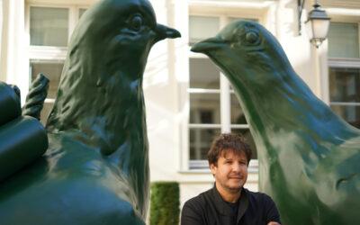 Les inquiétants pigeons d'Adel Abdessemed