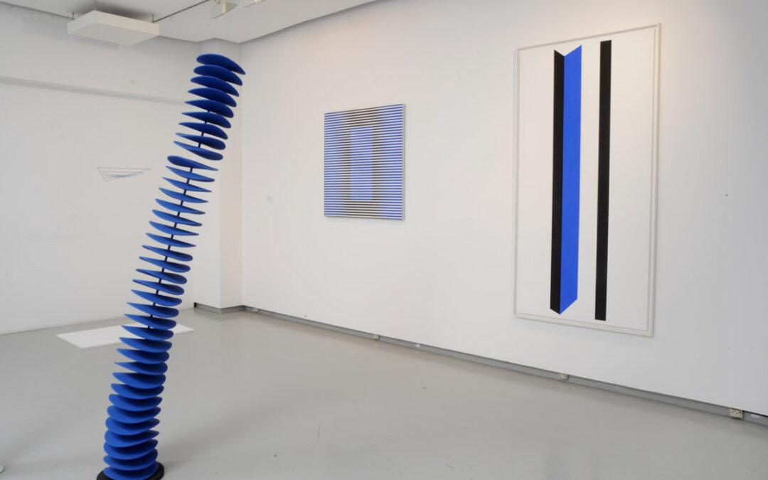 Le grand bleu à la galerie Denise René