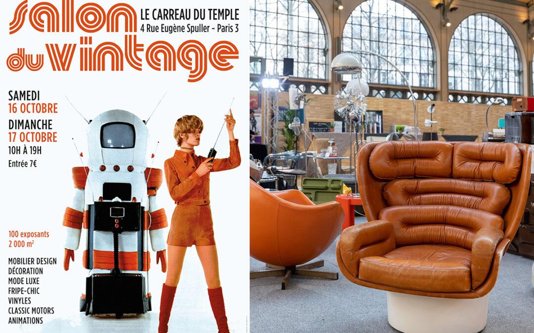 Salon vintage au Carreau du Temple (16-17 oct.)